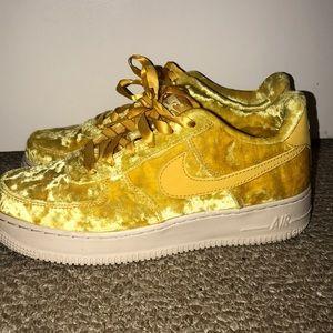 Nike Shoes | Nike Air Force Velvet